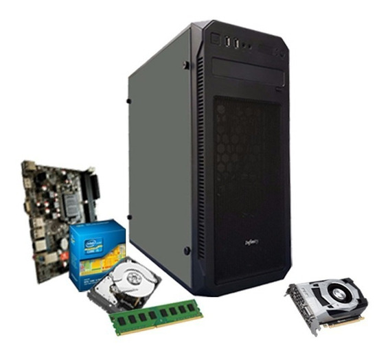 Pc Gamer Intel I5 3.6 Ghz, 8gb, Geforce 4gb 1050 Gtx Ti + Nf