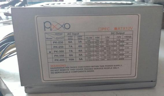 Fonte Atx 12v Pixxo Model:pk-230 Pk250-testada
