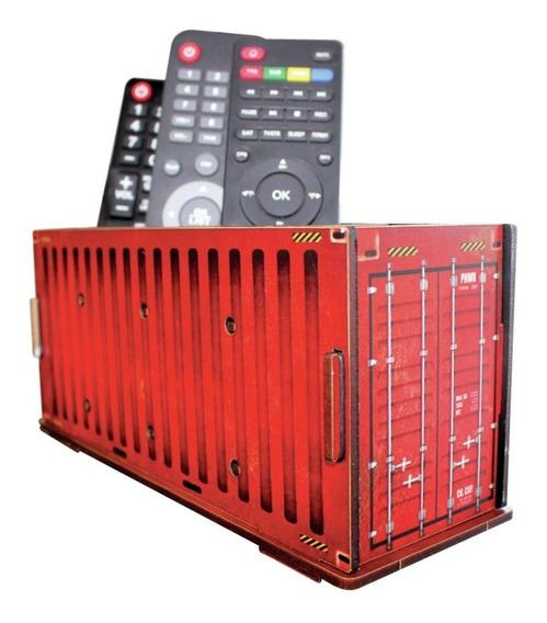 Porta Control Remoto / Porta Lapices - Container Rojo Wepak