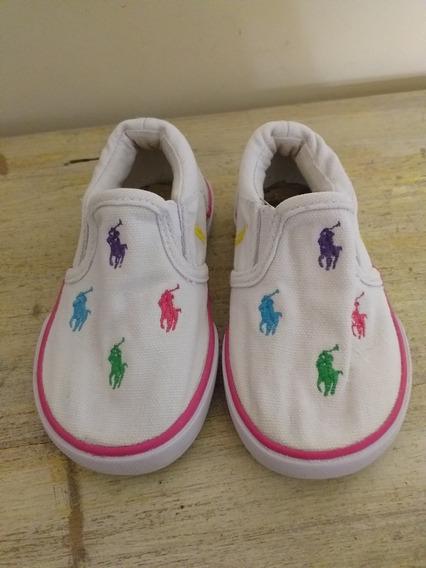 Zapatillas Polo Niña