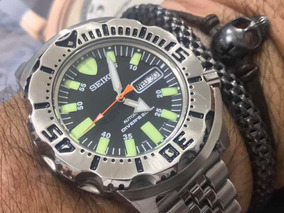 Seiko Monster 7s27-0350 Automatic Divers 200m Japan
