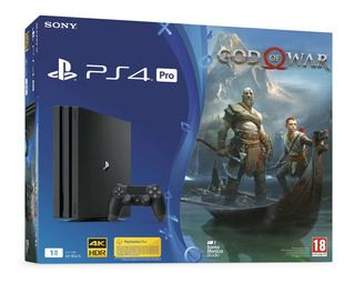 Playstation 4 Pro 1tb + God Of War 4 + Fifa19 | Ps4 Pro Play