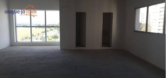 Sala Para Alugar, 80 M² Por R$ 2.000/mês - Jardim Aquarius - São José Dos Campos/sp - Sa0598