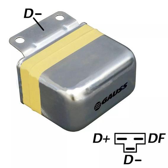 Regulador Voltagem 14v Gauss Ga 001 Fiat-toyota-agrale