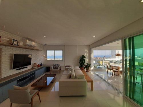 Apartamento Com 3 Dormitórios À Venda Por R$ 1.200.000,00 - Enseada - Guarujá/sp - Ap10969