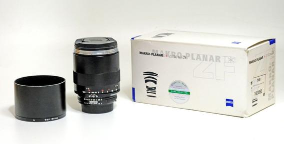 Objetiva Carl Zeiss Makro Planar 100mm F2 Zf Para Nikon
