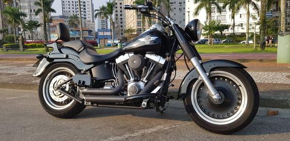 Moto Harley Davidson Fat Boy Special 2015 Preta