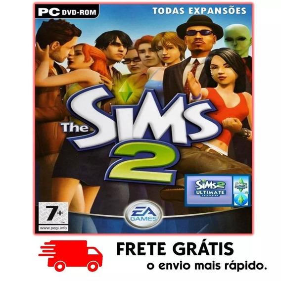 The Sims 2 Pc Todas Expansões 2019 Mídia Digital