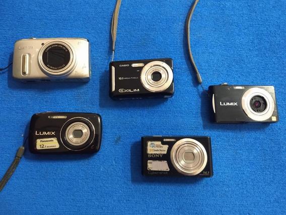 12 Câmeras De Diferentes Modelos E Marcas *leiam A Descrição