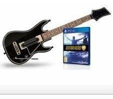 Guitarra + Juego Guitar Hero Live Ps4