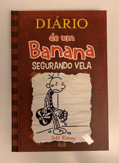 Livro Capa Dura - Diário De Um Banana Segurando Vela - Novo!