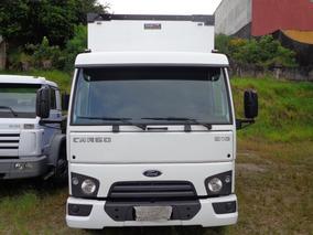 Ford Cargo 816 Ano 2016 Unico Dono Bau Sider