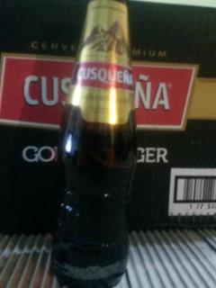 Cerveza Cusqueña Golden Lager Porron 330ml X 24.
