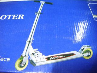 Patin Scooter Active Aluminio Pleglable