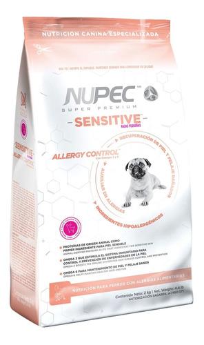 Imagen 1 de 1 de Alimento Nupec Nutrición Especializada Sensitive para perro de raza pequeña sabor mix en bolsa de 2kg