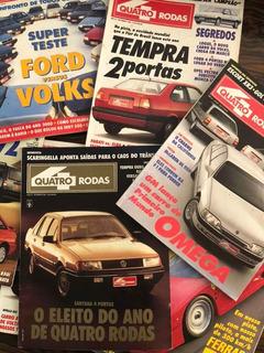 Lote 33 Edições Revista 4 Quatro Rodas 92/97/01 Frete Grátis