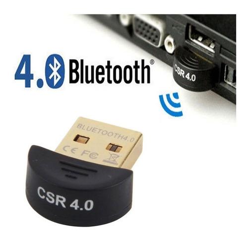 Imagen 1 de 1 de Adaptador Bluetooth Computadora Usb V4.0 Laptop Pc W7 W8 W10