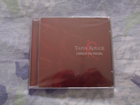 Tapis Rouge / Cirque Du Soleil - Cd (novo Lacrado)
