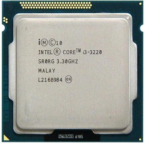 Processador Intel I3 3220 3.3ghz 3ª Geração Lga 1155 3mb