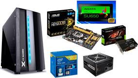 Computador Gamer Corei5 Asus H81 8gb Ram 120gbssd Gtx1050ti
