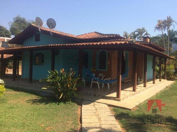Chácara Com 3 Dormitórios À Venda, Locação Mensal Ou Temporada, 10.000 M² - Arara Dos Pereiras - Bragança Paulista/sp - Ch0199