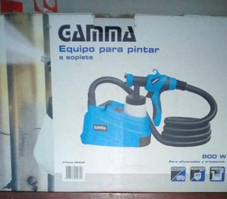 Soplete Para Pintar Equipo Gamma, Solo 1 Uso!!! Excelente!