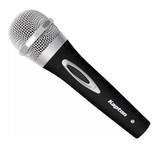 Micrófono Alámbrico Dinámico Kapton Kmi-60bs Envio Gatis