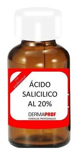 Acido Salicilico 20% Peeling Acne Poros Abiertos Secuelas Marca Dermaprof
