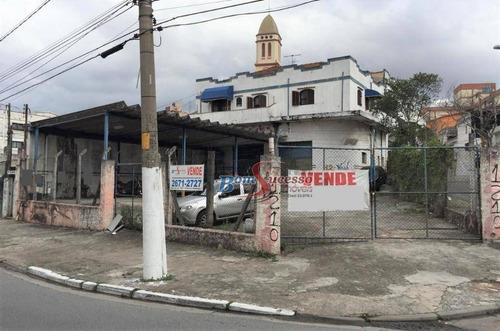 Imagem 1 de 12 de Terreno À Venda, 860 M² Por R$ 3.800.000,00 - Vila Carrão - São Paulo/sp - Te0318