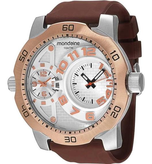 Relógio Mondaine Masculino Bronze 94850g0mvnu3