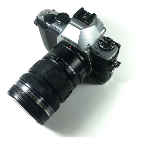 Camera Olympus Om-d E M5 + Lente 12-50mm Novinha + Brinde!