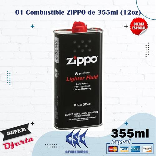 Combustible Para Encendedor Zippo 355ml (12 Fl.oz.) Original