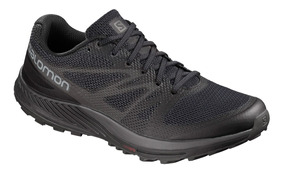 Tenis Hombre Salomon Trail Running Sense Escape Negro