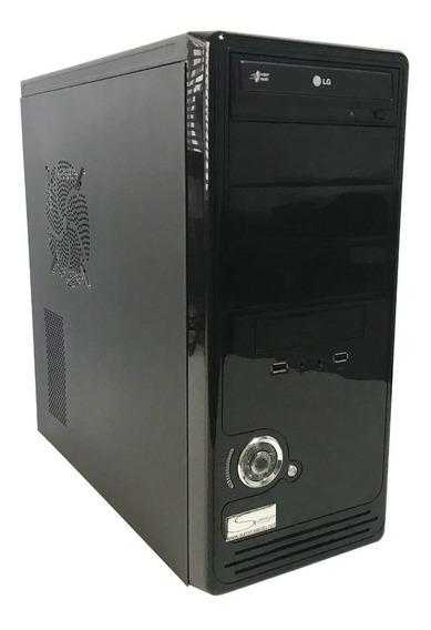 Cpu Pro Intel Core 2 Duo C/ 3gb Ddr2 + Hd 80 + Gravador Dvd