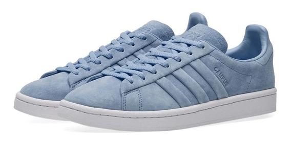 Tenis adidas Campus Stitch And Turn Azul Dz0070 Gamusa Casual Skate Original Sneakers