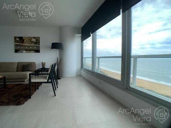 Departamento En Alquiler Anual En Le Parc 1 -frente Al Mar, Playa Brava