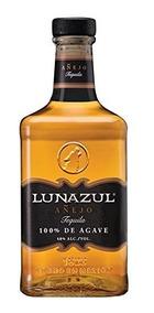 Tequila Lunazul Añejo Botella 750 Ml