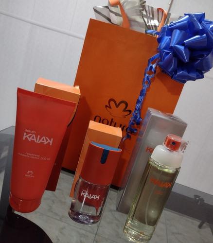 Combo Kaiak Mujer Perfume, Crema Hidrat - mL a $533