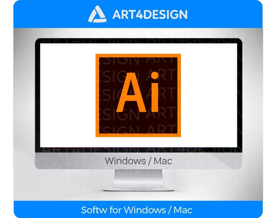 Illustrator Cc 2020  envio Imediato Adbe  Win Ou Mac + Bonus
