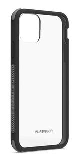 Protector Funda iPhone 11 Pro Max Transparente Negro 62997pg