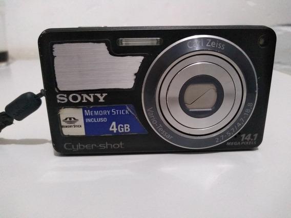 Câmera Fotográfica Digital Sony Dsc-w350
