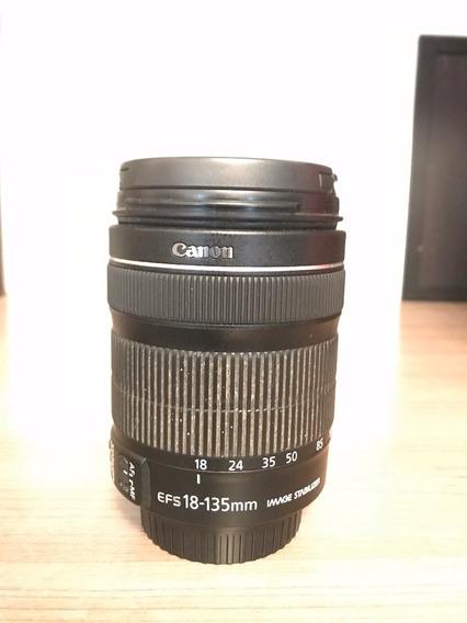 Lente Canon Ef-s 18-135mm F/3.5-5.6 Is + Parasol