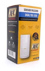 Sensor De Presença Dual Tec 550 Pet 30kg Jfl