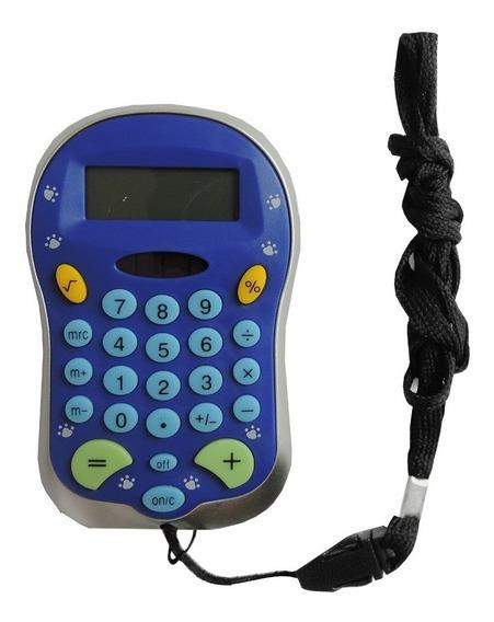 Calculadora De Bolso Ys6136 8 Dígitos Com Cordão Yins.