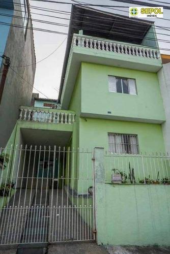 Casa Com 2 Dormitórios À Venda, 200 M² Por R$ 410.000,01 - Jardim Nossa Senhora Aparecida - São Paulo/sp - Ca0271