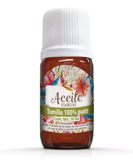 Aceite Esencial De Tomillo 10 Ml 100% Natural