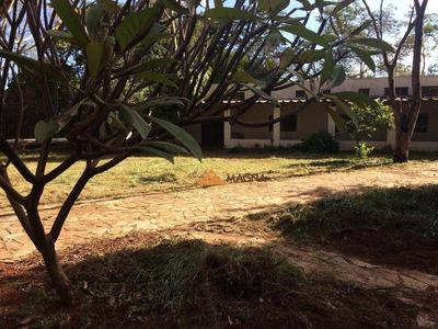 Chácara Com 2 Dormitórios À Venda, 5600 M² Por R$ 1.200.000 - Recreio Internacional - Ribeirão Preto/sp - Ch0083