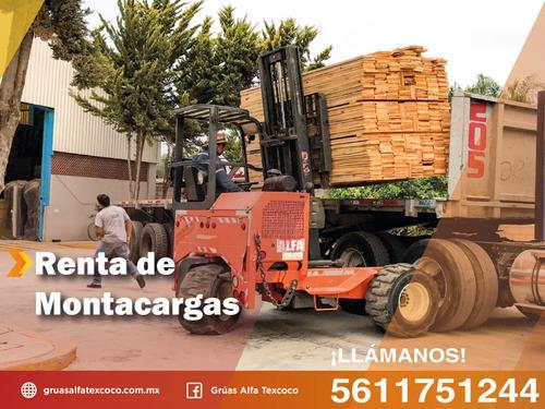 Imagen 1 de 3 de Renta De Montacargas 2.5 Toneladas De Capacidad