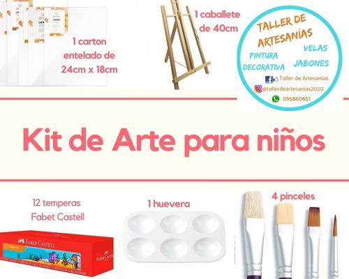 Kit De Arte Para Niños