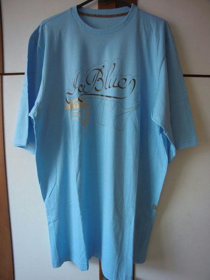 Camiseta Ice Blue Racionais Mcs Hip Hop Tam Gg Blusa Rara.